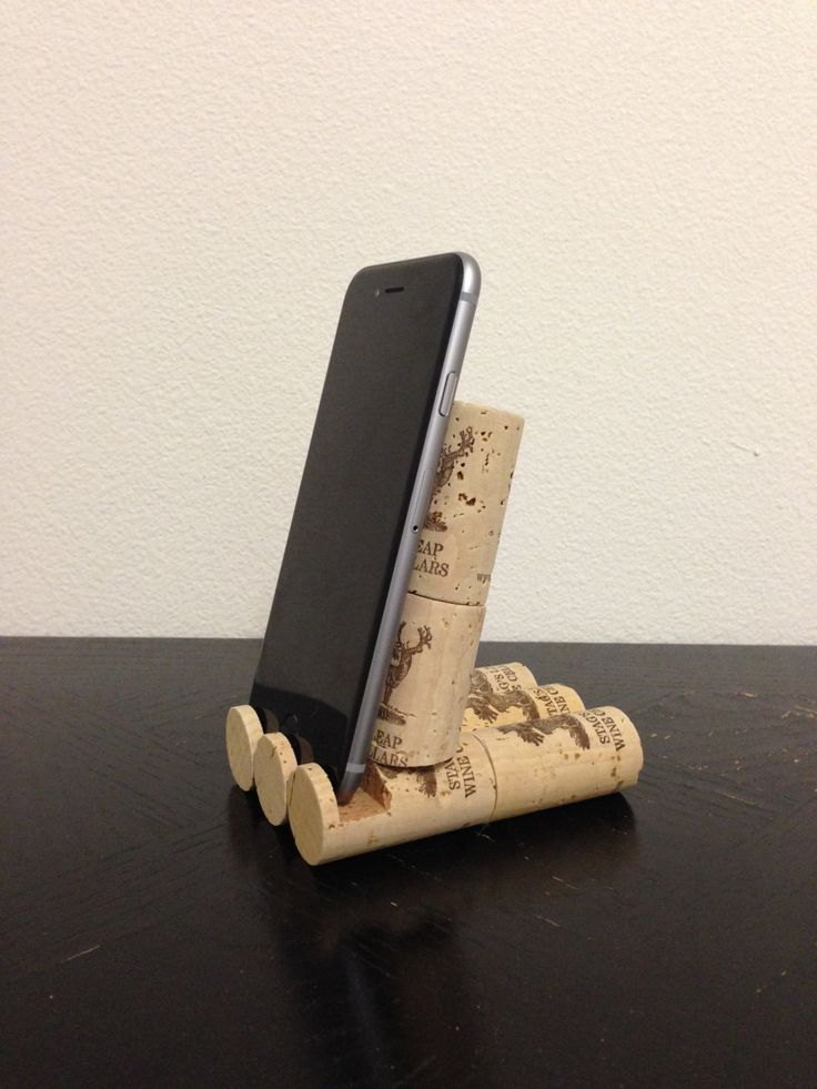 Wine Cork Phone Stand
