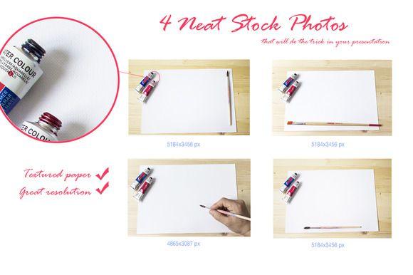 4 Stock Photos for your presentation by digitalopedia on Creative Market