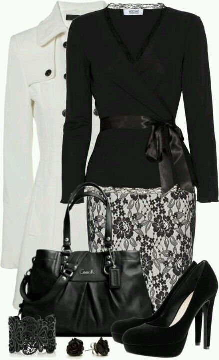 Office attire / Office outfit ... ♥