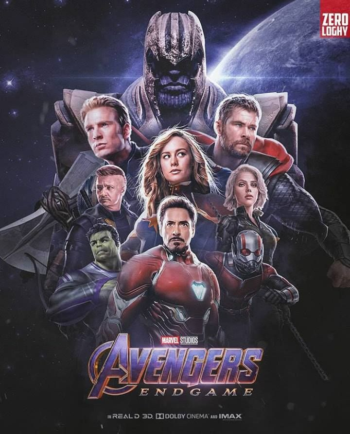 Avengers Endgame Poster In The Aftermath Of Thanos Wiping Out