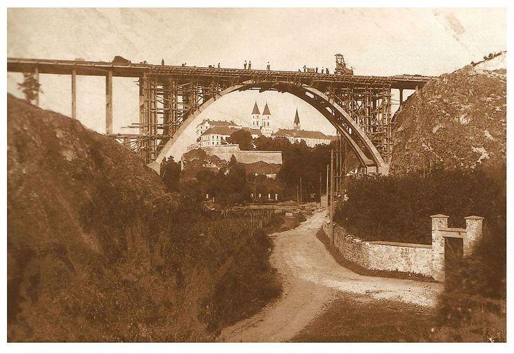 Szent István völgyhíd | Anno Veszprém híd egykor.hu | régi Magyarország akkor és most