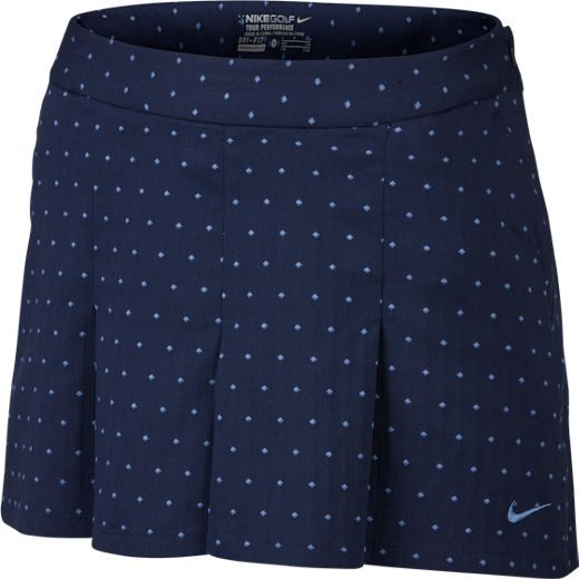 Midnight Navy/Chalk Blue Nike Ladies Majors Moment Golf Shorts #lorisgolfshoppe