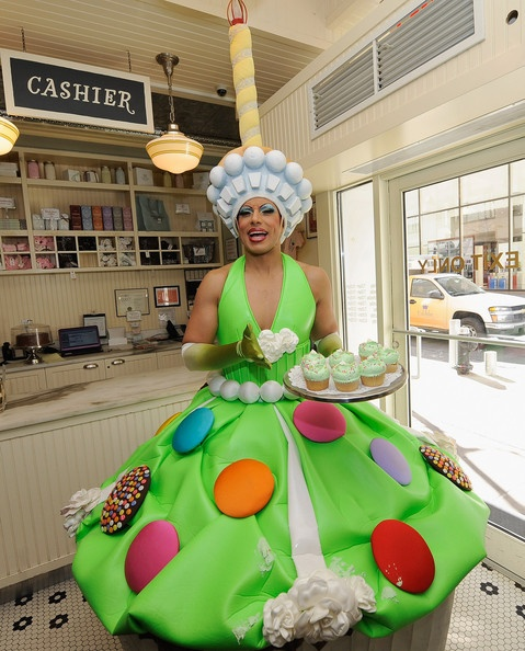 How did we miss this!? This abounding creation by @Magnolia Bakery is known as the Priscilla Queen of the Desert Cupcake