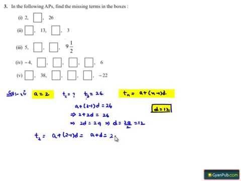 NCERT Solutions for Class 10th Maths Chapter 5 Arithmetic Progressions Ex 5.2 Q3 - Learn CBSE #NCERT #NCERTsolutions #CBSE #CBSEclass10 #RDsharma #mathsRDsharma