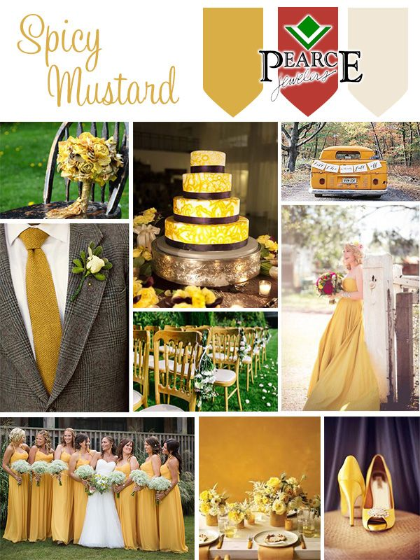 Bounces Elegantly Off Other Colors In The Palette Pantone 14 0952 Y Mustard Is