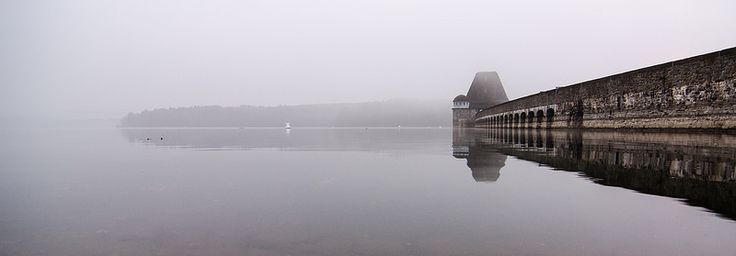 Möhnetalsperre im Nebel