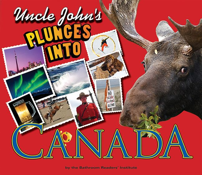 Uncle John's Plunges into Canada (Illustrated Edition) is full of cool trivia and fascinating facts about the greatest country in the world, but now it's jam-packed with photographs and illustrations too!