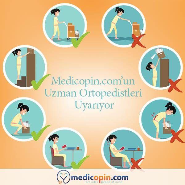 Stres, duruş bozuklukları, kireçlenme ve aşırı kilo gibi pek çok nedeni olabilen bel ağrıları günlük yaşam kalitesini düşüren, dikkate alınması gereken bir durumdur. Peki, belinize gereken özeni gösteriyor musunuz? Farkında olmadan yaptığınız yanlış hareketleri sizin için derledik.   Bel ve sırt ağrısı tedavileri hakkında Medicopin.com'un uzman ortopedistlerinden ikinci görüş alabilirsiniz.   #medicopincom #medicopin #medihis #digitalhealth #ikincigörüş #secondopinion #medikalarşiv…
