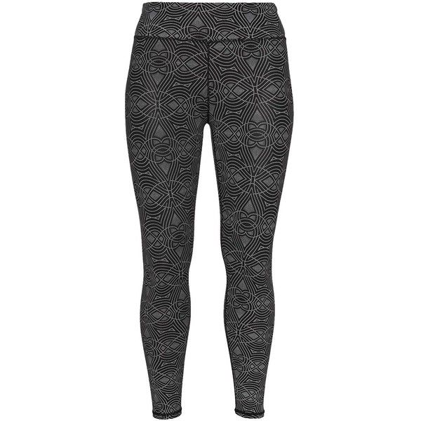 Röhnisch Black / White Plus Size Printed sports leggings ($62) ❤ liked on Polyvore featuring activewear, activewear pants, black, plus size, plus size activewear, plus size activewear pants, sports jerseys, sports activewear and plus size jerseys