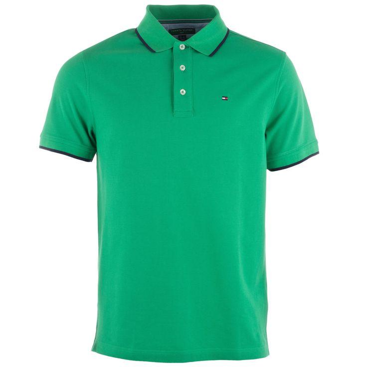 Polo Shirts | Green Mens Pique Polo Shirt | Get The label