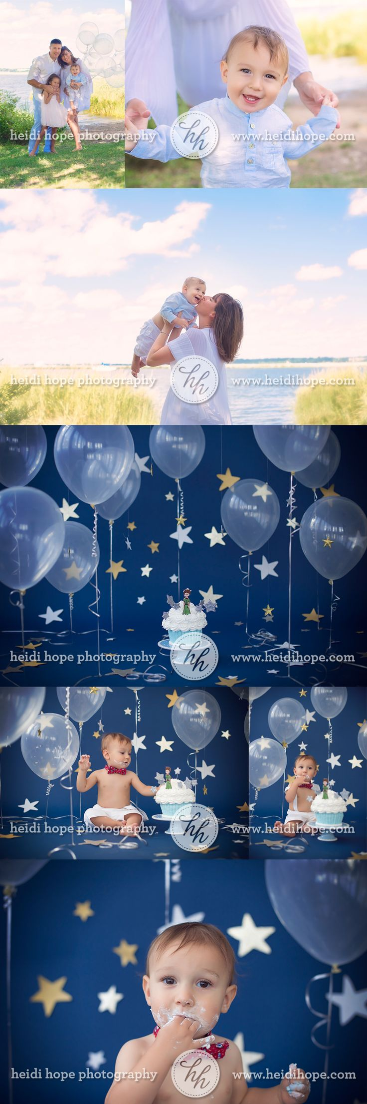 Le Petite Prince first birthday cakesmash sneak peek for 1 year old L