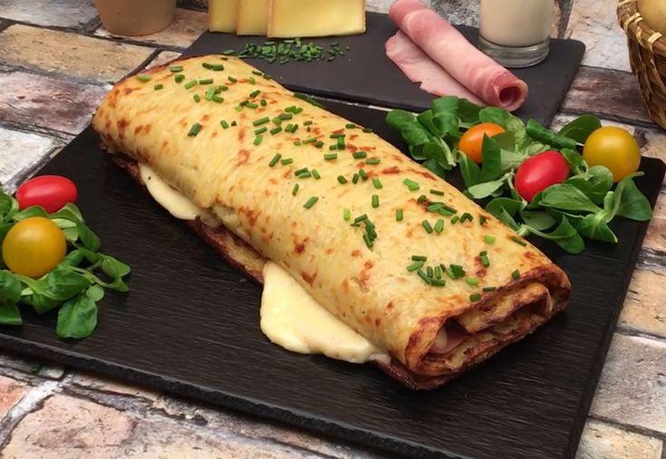 Die Rösticlette! Raclette, Riesenrösti-Version 🙂 Zutaten 200 g Raclettekäse 4 Scheiben weißer Schinken 20 cl Sahne 4 Kartoffeln 3 Eier Schnittlauch Salz & Pfeffer Rezept Die Kartoffeln schälen. In einer Salatschüssel die Kartoffeln reiben. Fügen Sie Eier, flüssige Sahne, Salz und Pfeffer hinzu. Mischen Sie alles mit einem Holzspatel. Gießen und verteilen Sie die Mischung auf einem Teller, der mit einem Backblech bedeckt ist. 25 Minuten bei 200 ° C backen Su …   – Natalie Verhoest