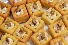 Pasta frolla salata con crema pasticcera salata e mascarpone con noci - Un Biscotto al Giorno