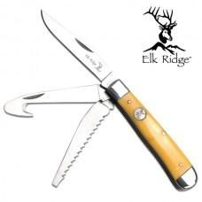 Elk Ridge 3 blade hunter folder