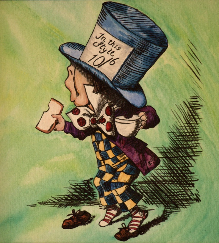 Alice in Wonderland, Mad Hatter
