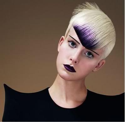 hairstyle - Vidal Sassoon . Academy. Da Da Dolls (spring summer 2010 ).