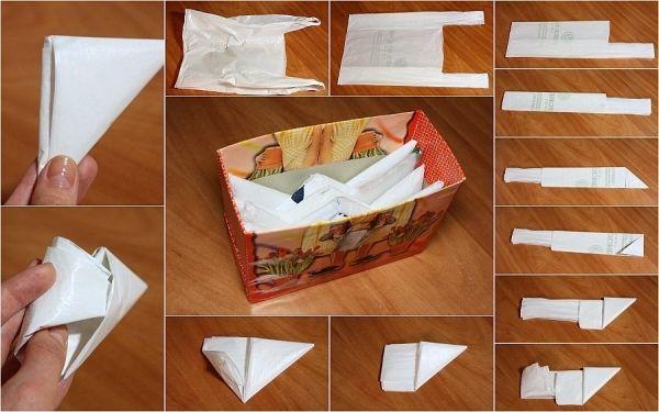 DIY Smart Plastic Bag Storage