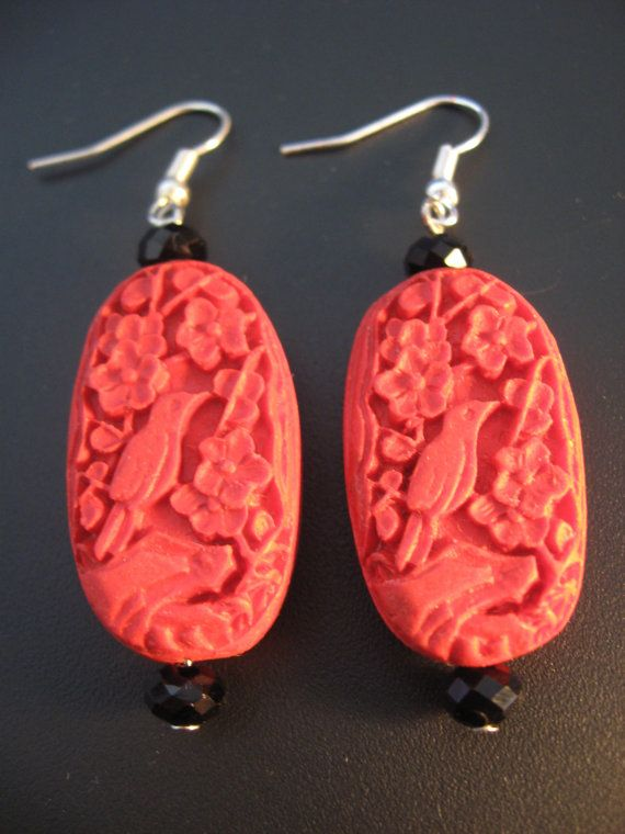 1000 Images About Cinnabar Jewelry On Pinterest