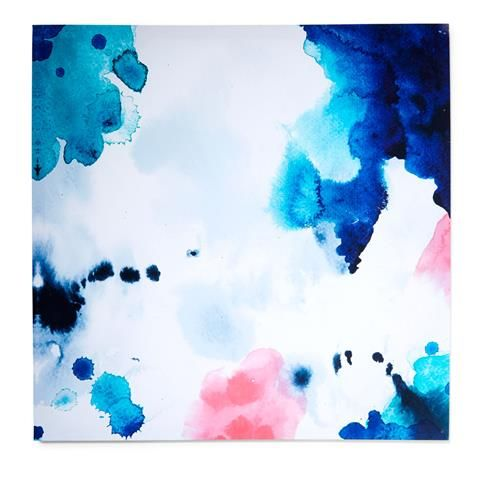 Option for Bed 2. $14 only. above the bed Watercolour Canvas | Kmart