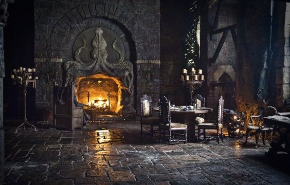 Octopus Fireplace Game Of Thrones Google Search
