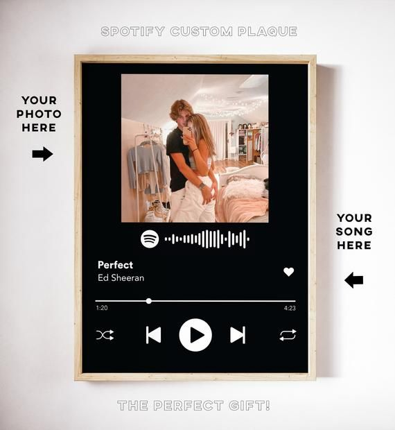 Custom Song Glass Plaque Its Super Popular On Tiktok This Makes The Perfect Gift For Y Custom Photo Albums Boyfriend Personalized Gifts Cute Boyfriend Gifts