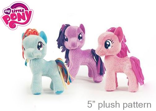 Free My Little Pony Plush Pattern