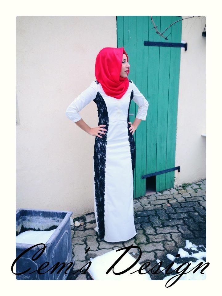 http://abayatrade.com   like the dress, not with that color hijab--agree, dress beautiful, needs different color hijab