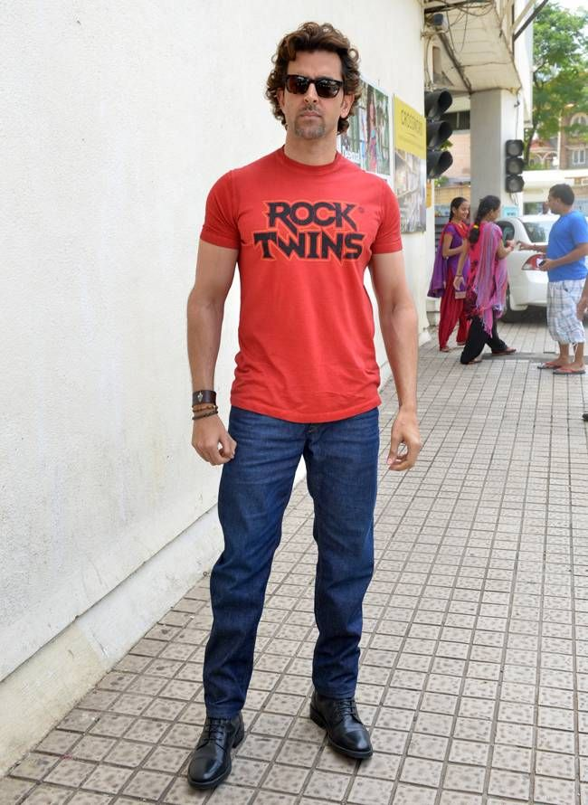 Hrithik Roshan at the launch of the music video 'Dheere Dheere'. #Bollywood #DheereDheere #Fashion #Style #Handsome