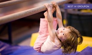 Groupon - One or Two Months of Gymnastics Classes at ASI Gymnastics (Up to 65% Off). Eight Locations Available. in Multiple Locations. Groupon deal price: $39