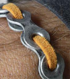 Fietskettingarmband_detail