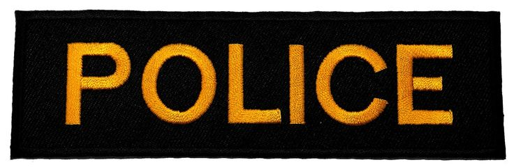 Police Officer Costume DIY Applique Embroidered Sew Iron on Patch >>> To view further for this item, visit the image link.