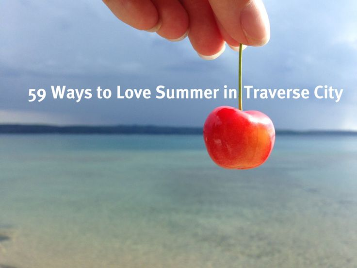 An Up North summer begins and ends on a holiday. That's 59 days to soak up the sun. So I put together a list of 59 ways to squeeze in every last drop of Pure Michigan fun. This year, let's all Be a...