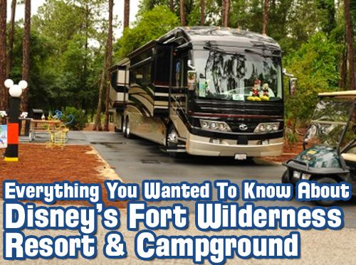 Show # 362 - Everything You Wanted to Know About Disney's Fort Wilderness Resort and Campground » WDW Radio - Your Walt Disney World Informa...