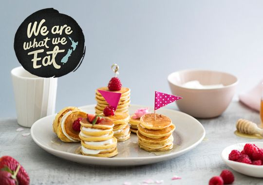Yoghurt and Honey Pikelet Pike-up Recipe - Quick and easy at countdown.co.nz