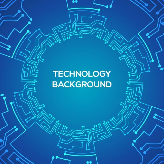Circular Technology Background Template Circular Shape Technology Png And Vector With Transparent Background For Free Download Technology Background Background Templates Graphic Design Background Templates