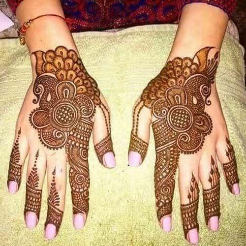 Henna design For Girls