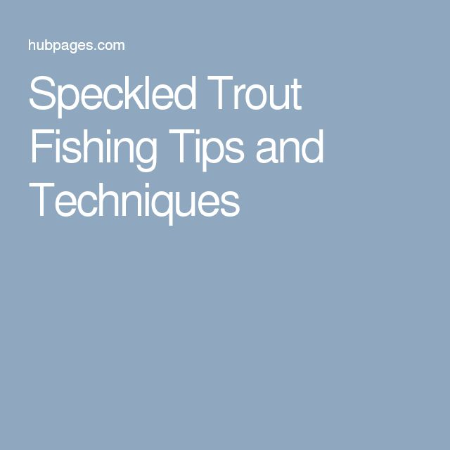 Best 20 trout fishing tips ideas on pinterest for Trout fishing basics