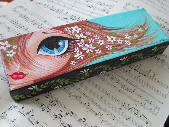 Check out this item in my Etsy shop https://www.etsy.com/listing/234260731/blue-eyes-girl-original-paintings-canvas