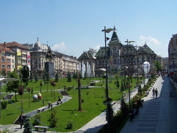 Orasul Craiova, Romania.