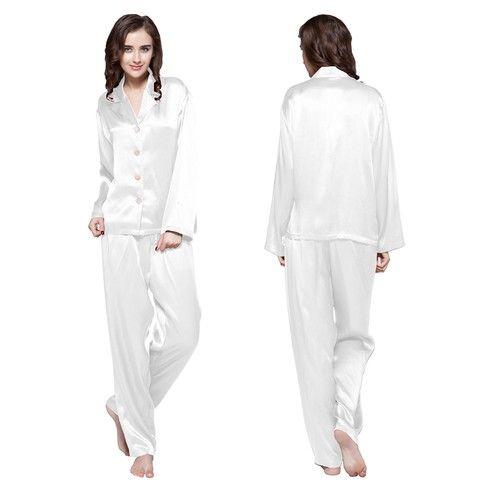 22 Momme Long Classic Silk Pyjamas Set