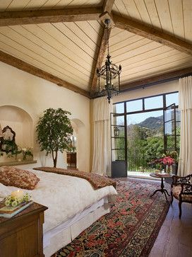 Project 13 - mediterranean - Bedroom - Santa Barbara - Giffin & Crane General Contractors, Inc.