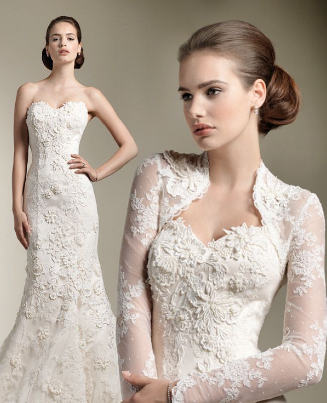 76 best Lace wedding jackets images on Pinterest | Lace weddings ...