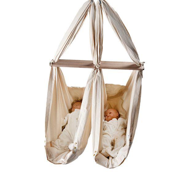 NONOMO® Zwillings-Babywiege Normale Baumwolle