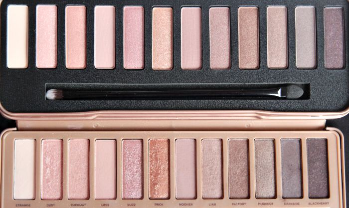 W7 In The Nude Urban Decay Naked 3 Palette Dupe - Review -5734