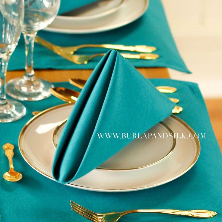 125 best 2018 Weddings images on Pinterest Cloth napkins Table