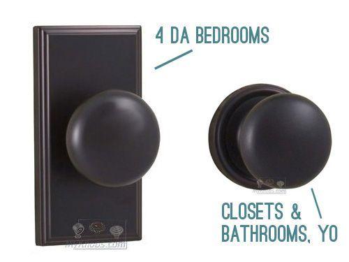 YoungHouseLove com chose Weslock knobsBest 25  Interior door knobs ideas on Pinterest   Door knobs  . Bedroom Door Handles. Home Design Ideas