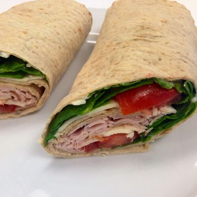 Deli Sandwich Chicken Wrap - 21 Day Fix Approved!