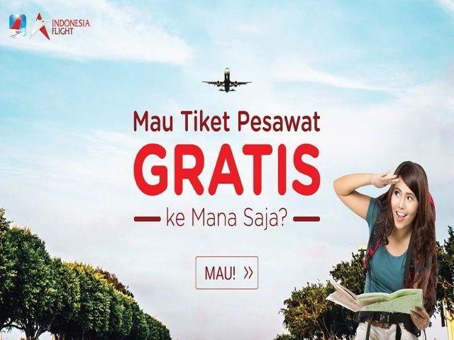 promo undian indonesia flight berhadiah tiket pesawat