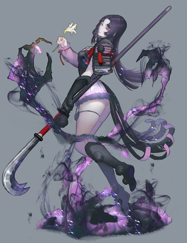 Yuki Kalahari female Red rose assassin