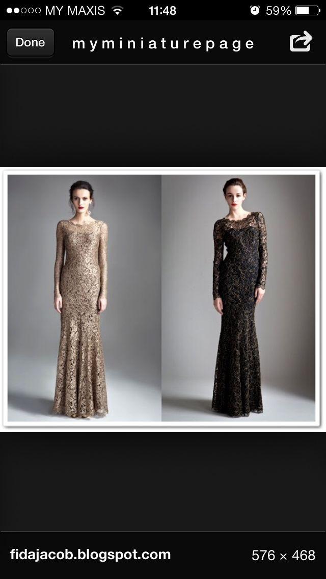 Full lace - dress design